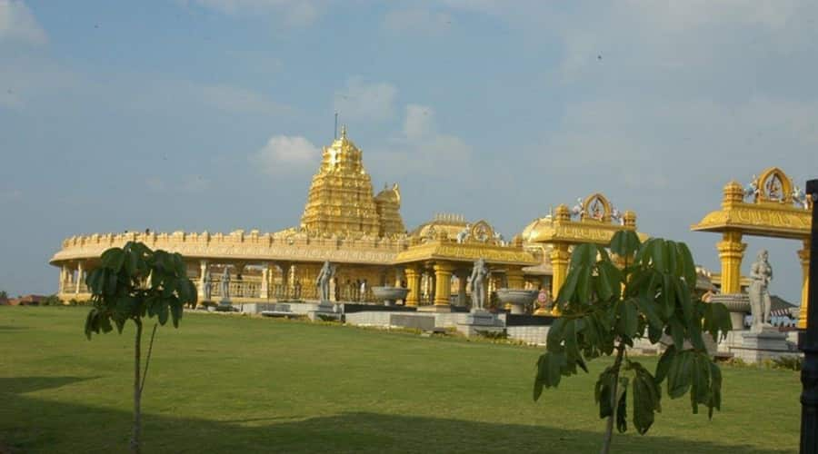 Golden Temple at Vellore