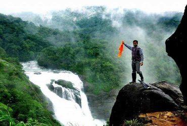 Mallalli Falls in the Pushpagiri Hills